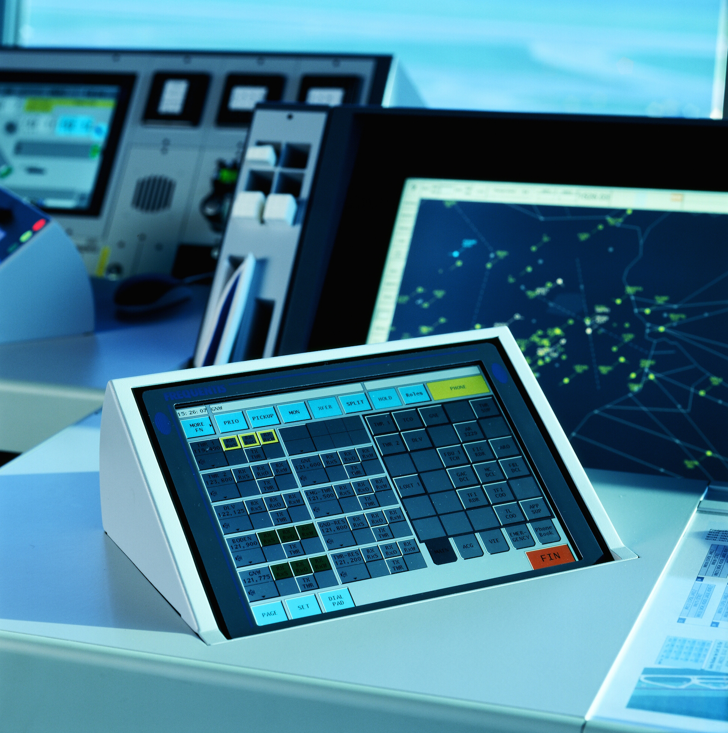 Voice Communication Systems For Airlines - FREQUENTIS