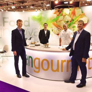 Green Gourmet WTCE stand