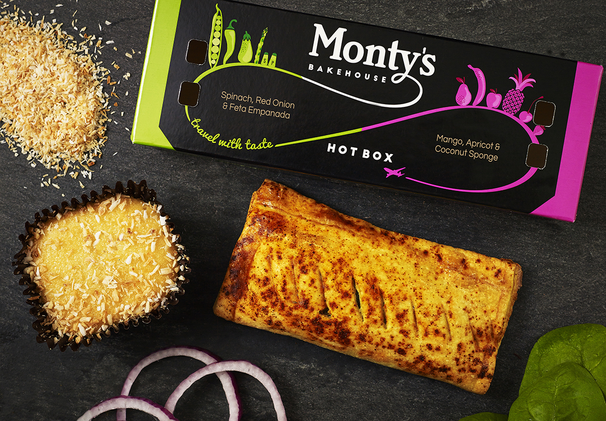 Airline Hand Held Snacks And Bakery Goods Monty S Bakehouse