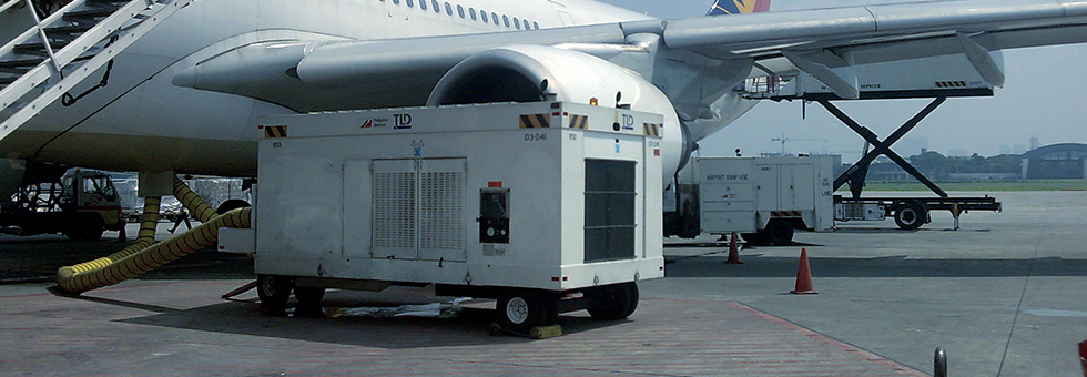 Jet Engine Air Conditioner : Complete range of airline ground support equipment tld
