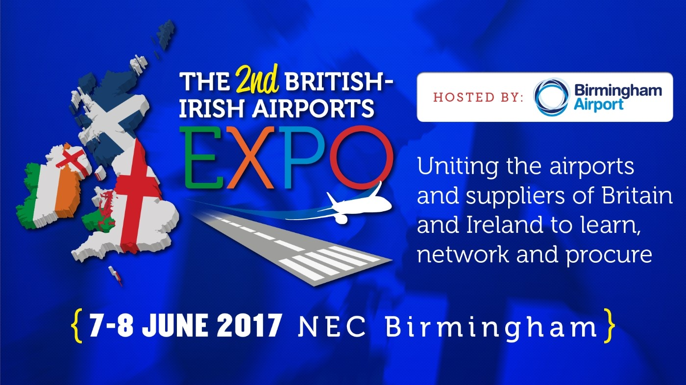 20+ airport CEOs and division heads address FREE Dev & Ops conference | Birmingham NEC, 7-8 June 2017