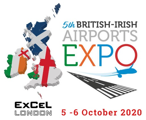 5th British-Irish Airports EXPO – new dates announced: 5-6 October 2020 ExCeL, London