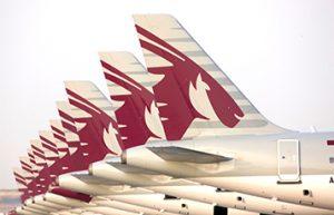 Qatar Airways Tail