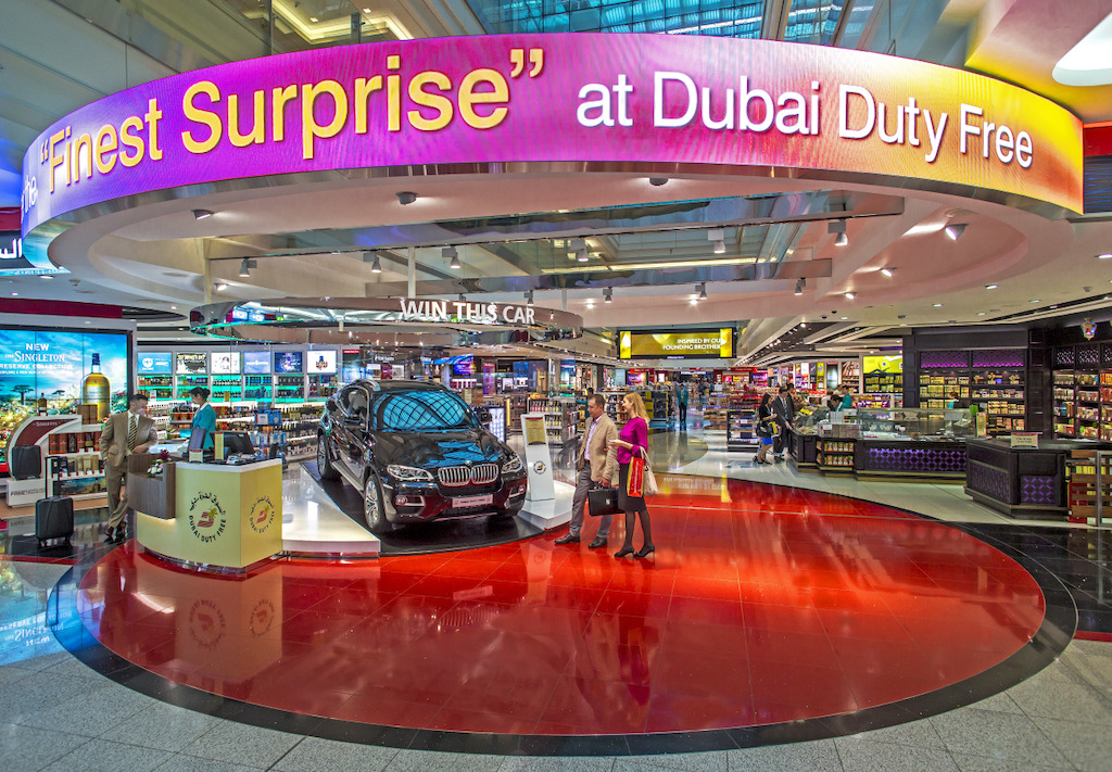 Emirates Skywards and Dubai Duty Free
