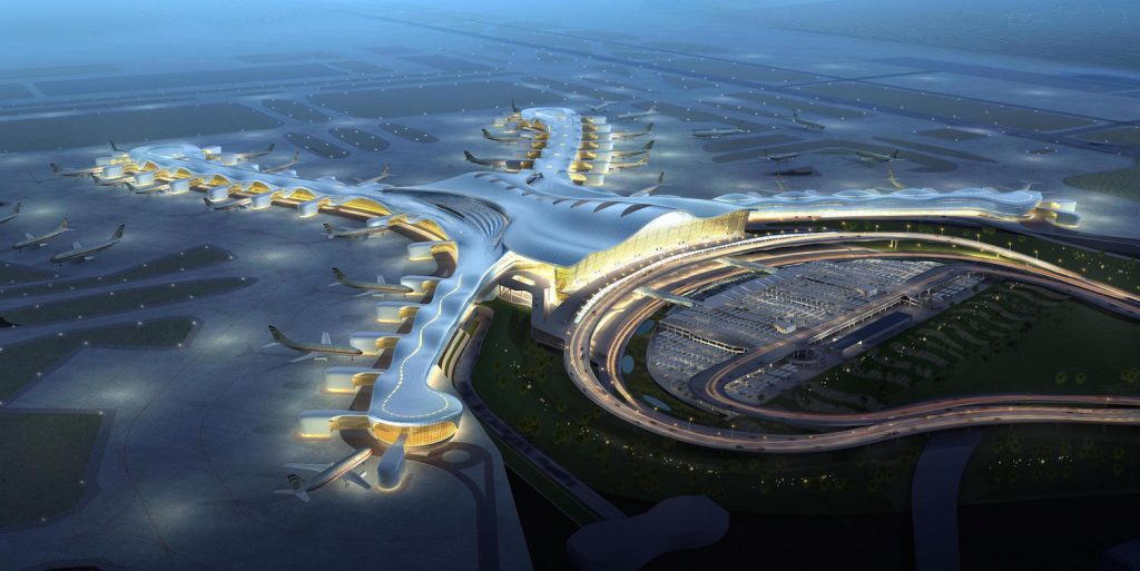 Abu Dhabi International Airport set to reach 40 million passengers by 2017 with the new $6.8 billion Midfield Terminal Building (MTB) project.
