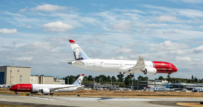 Norwegian's global expansion continues with a passenger growth of 14%