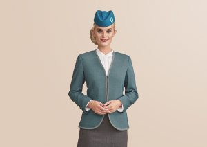 Airline ground staff uniforms for women