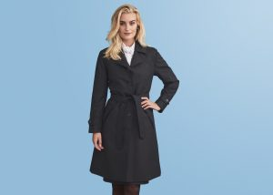 Wool coats for female air crews