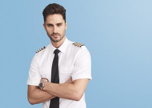 Airline captain uniforms