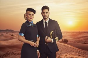 Airline crew uniforms
