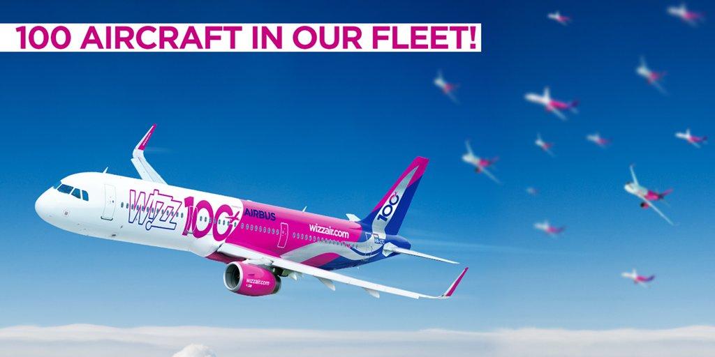 Wizz Air Fleet Reaches 100 Aircraft Airline Suppliers