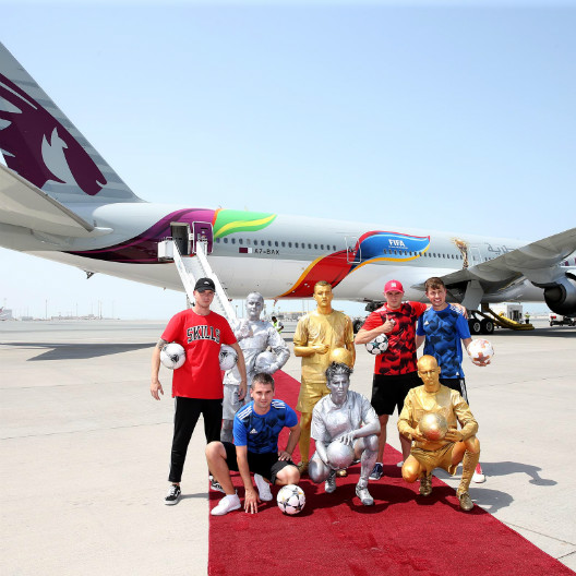 Qatar Airways Brings FIFA World Cup Excitement to the Skies