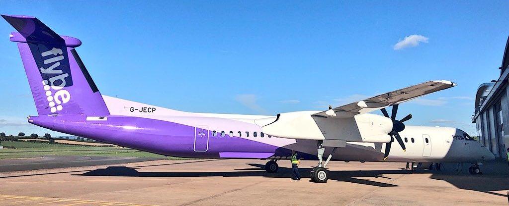 Resultado de imagen para flybe new livery