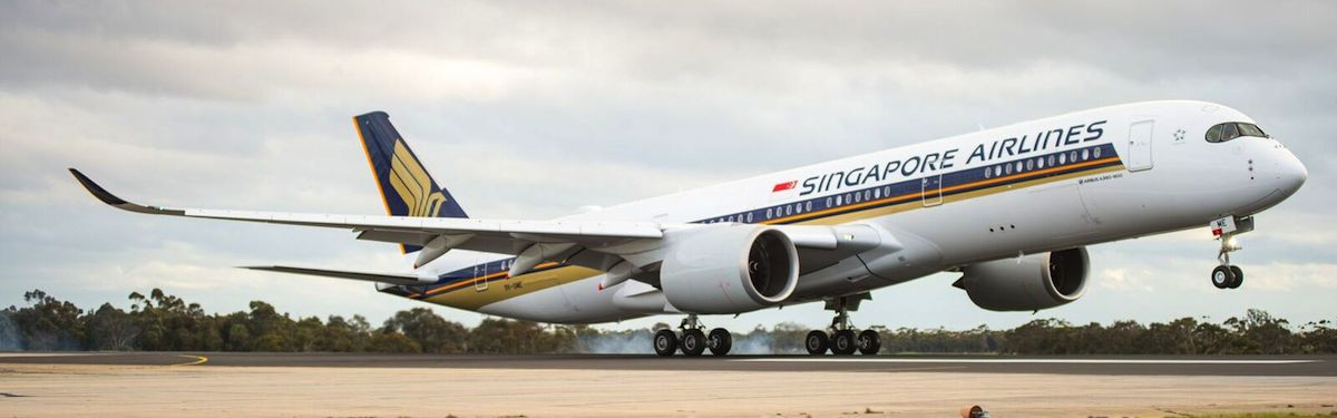 SIA To Debut New A350-900 Medium Haul Aircraft On Singapore ...