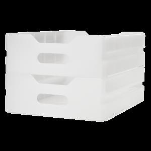 Aluflite Atlas single runner polypropylene drawer – Inflight galley equipment – Immediate delivery