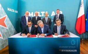 Ryanair To Invest In A Malta AOC Through Purchase Of Malta Air