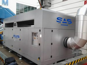 Pre-conditioned Air unit, diesel engine driven and pure electric drive Mobile type, fixed type, bridge mounted