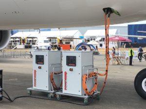 Solid state ground power unit – 400 Hz