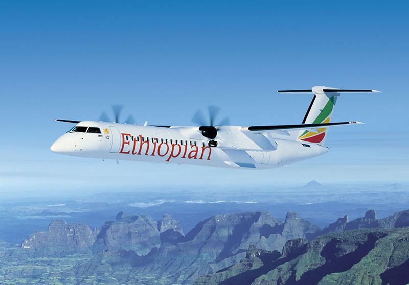 De Havilland Canada Delivers Milestone Dash 8-400 Aircraft