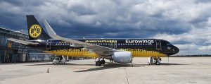 Eurowings Flies to Top Football Destinations as 2019 Champions League Group Phase Begins