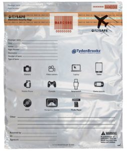 Fly Safe Scheme Security Bags