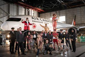 Air Canada and Cirque du Soleil announce international partnership
