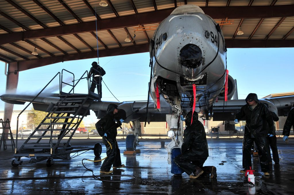 Aerospace Cleaning & Maintenance