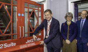 Jet2.com celebrates opening of Jet2Suite at Leeds Beckett University
