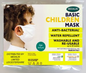 Children's Value Protective Face Mask - 4-8 years