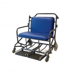 Bariatric Passenger Transfer Chair Automatic Brake – Front steer
