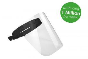 Dura-MaxTM Protective Face Shield FS-1000
