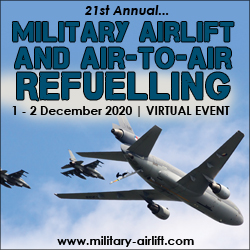 Invitation released from Conference Chair Laurent Donnet, Avidonn Consulting for Military Airlift and Air-to-Air Refuelling in three weeks