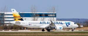 Indian Ocean based Air Austral becomes first French A220 operator