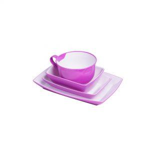 Plastic Rotable Tableware Set