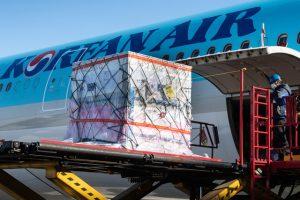 Korean Air operates 10,000 cargo-only passenger flights