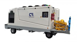 GF15 - Mobile Air Conditioning Unit & Combo for Aircraft Codes B to C - ACU combined with 400Hz / 28 Vdc power supply
