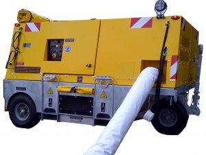 CF33 - Mobile electrical driven Air Conditioning Unit for military fighter aircraft