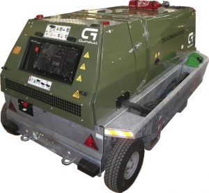 GA Military range - Mobile 400Hz Military Ground Power Unit (Diesel Engine Driven) for Military Aircraft from 90 to 180 kVA