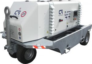 SA range - 400Hz Solid State Frequency Converter from 90 to 180 kVA