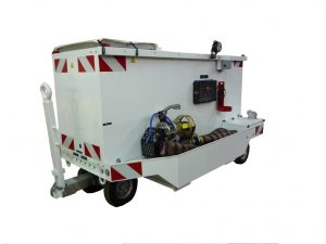 TS200 - Turbine type Air Start Unit for military aircraft